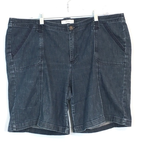 CJ Banks Pants - CJ Banks Blue Denim Jean Shorts Women's Size 18